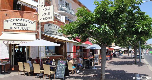 Cagnes-sur-Mer restaurang