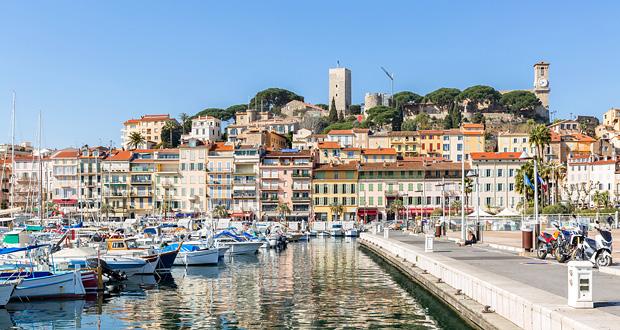 Cannes hamn