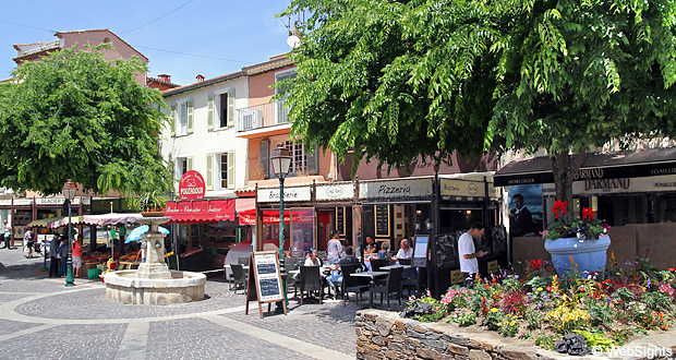 Sainte-Maxime restaurang